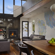 Modern Living Room by chadbourne + doss architects