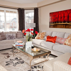 Contemporary Living Room by Mary Dancey Interiors
