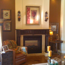 Eclectic Living Room by Barb Solem