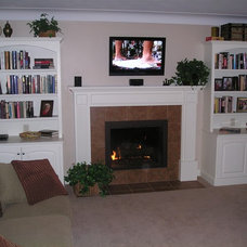 Traditional Living Room by DeHaan Remodeling Specialists, Inc.