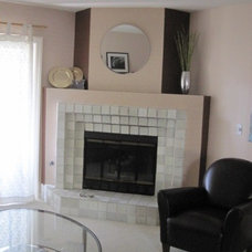 Contemporary Living Room Before
