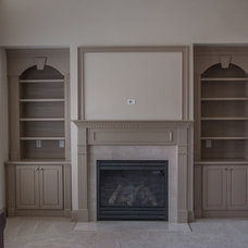 Traditional Living Room by Cabinets Of Atlanta Inc.