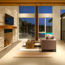 Modern Living Room by Drawing Dept
