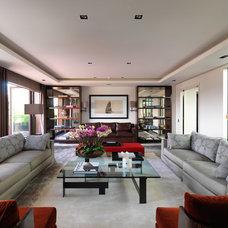 Contemporary Living Room by TLA Studio