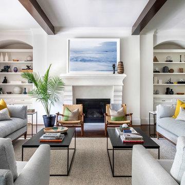 Bellaire living room design