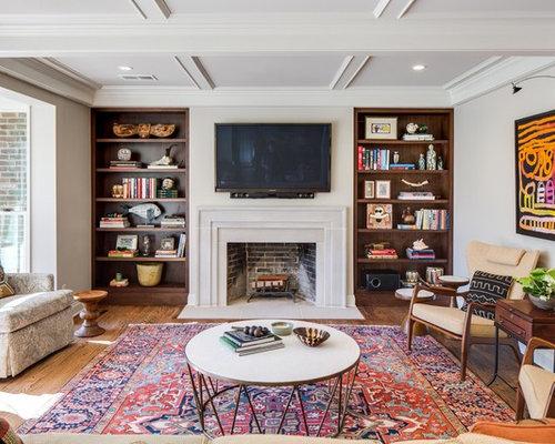 TV Above Fireplace Houzz