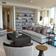 Contemporary Living Room by Masins Furniture