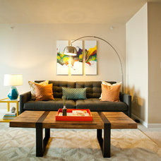Modern Living Room by Kimberlee Marie Interior Design