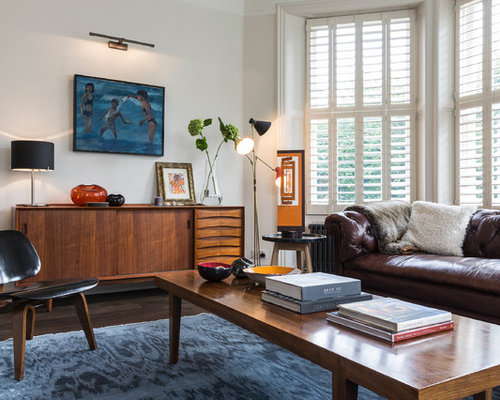Dark Brown Leather Sofa Ideas, Pictures, Remodel And Decor