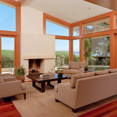 Contemporary Living Room by C Wright Design
