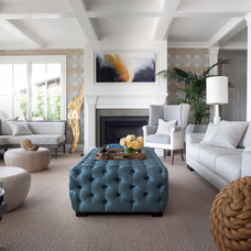 Contemporary Living Room by Green Couch Interior Design