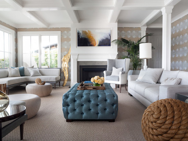 Contemporary Living Room by Jeff Schlarb Design Studio