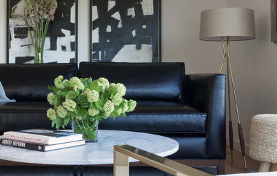 Room of the Day: A Living Room With Personal, Portable Style