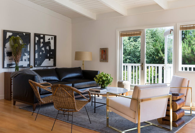 Contemporary Living Room by ByBlye Interiors