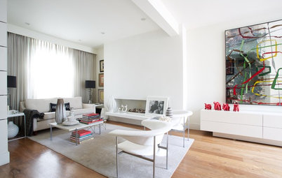 Finish decorating living room