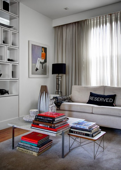 Contemporary Living Room by Landmark Lofts