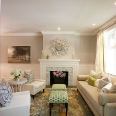 Contemporary Living Room by House of Excellence
