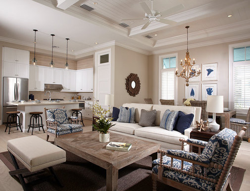 Decorating on houzz tips from the experts for Living room decor ideas houzz