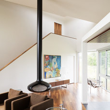 Modern Living Room by Hufft Projects
