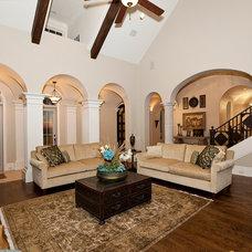Traditional Living Room by Bentley Premier Builders