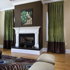 Contemporary Living Room Bergen County Residents