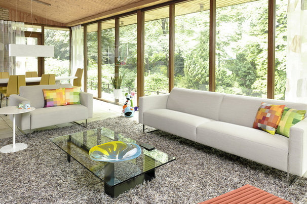 Modern Living Room by HUISSTYLING