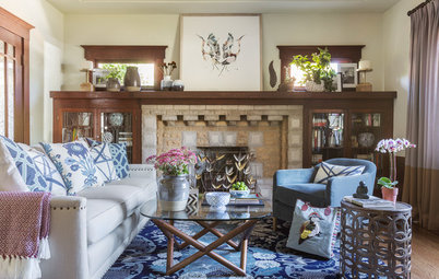 New This Week: 3 Living Rooms That Ditch the Tech for Family