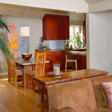 Contemporary Living Room by Patricia Benson