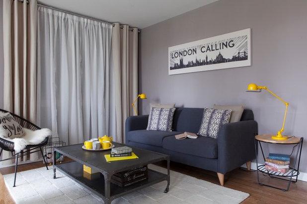 Eclectic Living Room by Studio Morton