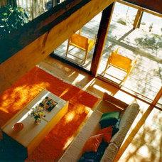 Contemporary Living Room by Bernard Marson, Architect