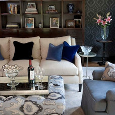 Eclectic Living Room by Papyrus Home Design
