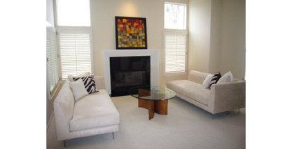 Contemporary Living Room BERYN HAMMIL DESIGNS
