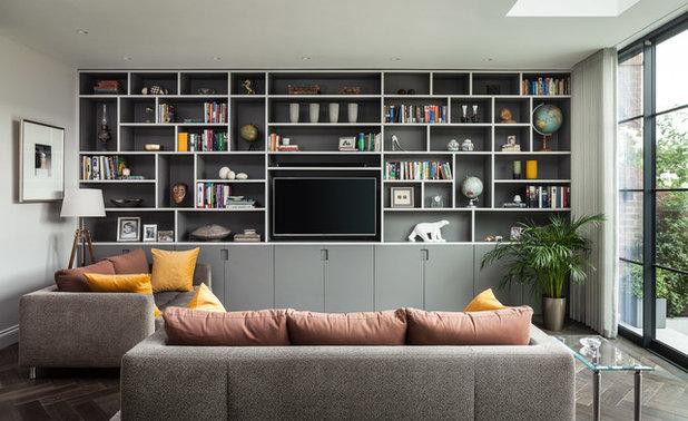 モダン リビング by EMR Architecture