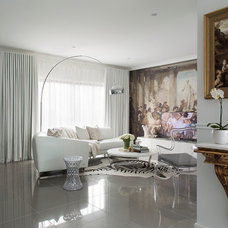 Contemporary Living Room by Massimo Interiors