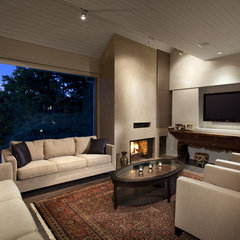 modern living room by Best Builders ltd