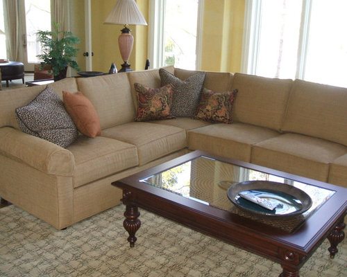 Houzz | Ethan Allen Sectional Design Ideas & Remodel Pictures
