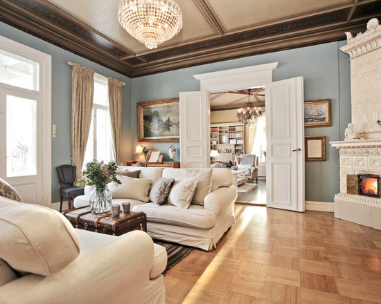 Furniture Placement In Living Room With Corner Fireplace houzz living room with corner fireplace - living room design ideas