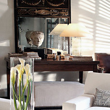 Contemporary Living Room by Betsy Brown Inc