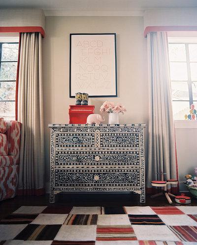 Eclectic Living Room by Burnham Design