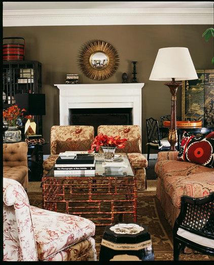 Living Room by Burnham Design