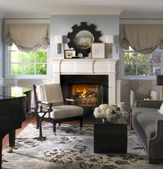 traditional living room by betsy burnham