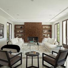 Contemporary Living Room by Katya Grozovskaya Photography