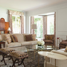 Transitional Living Room by Elizabeth Dinkel