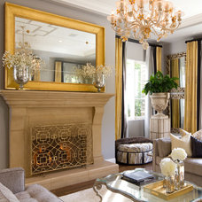 Traditional Living Room by A.S.D. Interiors - Shirry Dolgin, Owner