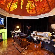 Eclectic Living Room by VIA – Los Angeles