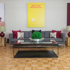 Midcentury Living Room by reStyled by Valerie