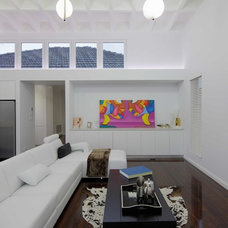 Contemporary Living Room by Interior Arc Pty Ltd