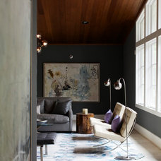 Midcentury Living Room by Heather Garrett Design