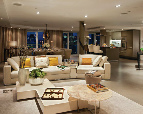 Open Plan Living Room Houzz