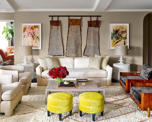fun living room chairs houzz family room. Example Of A Large Eclectic Formal And Enclosed Dark Wood Floor Brown Living Room Fun Chairs Houzz Family